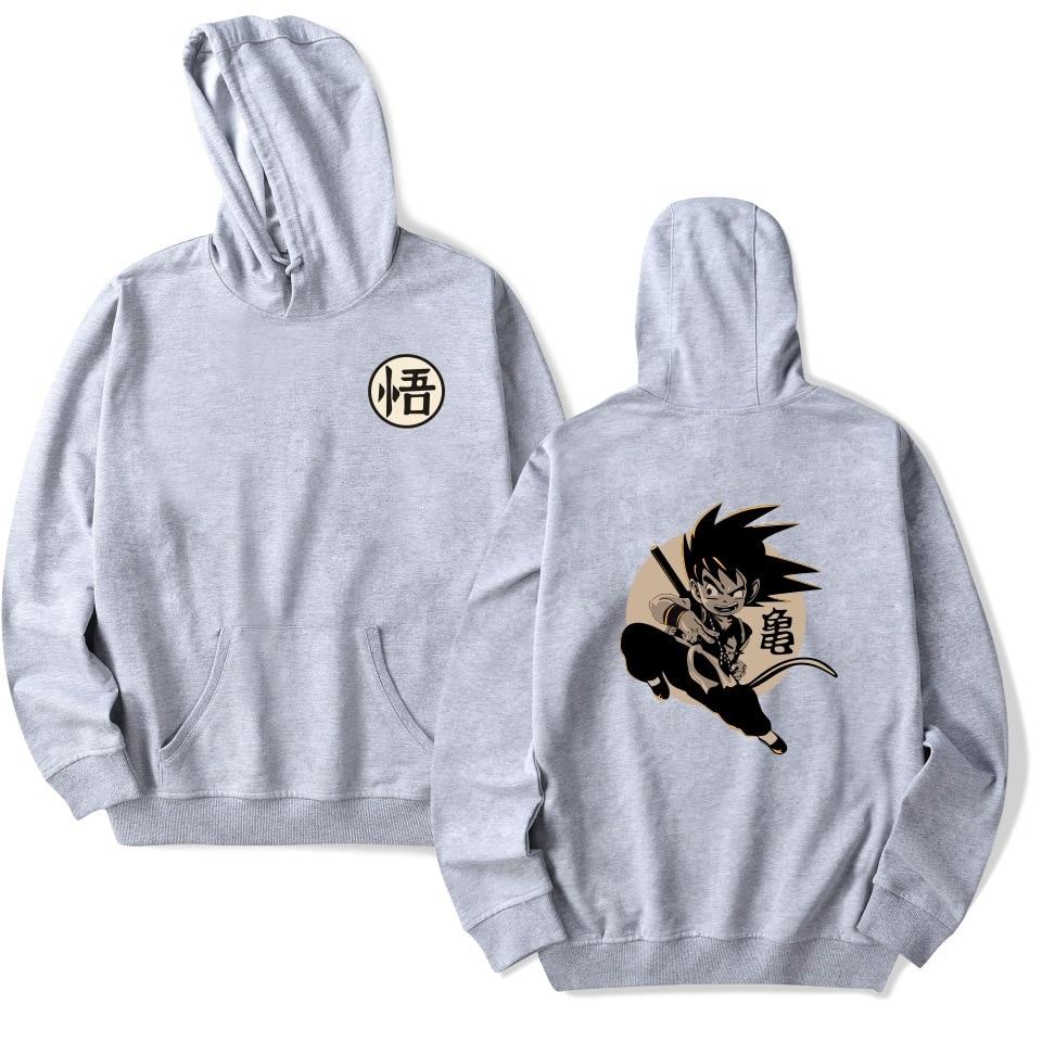 Men's Clothing Earnest Wejnxin Dragon Ball Hoodies Men Women Japanese Style Anime Monkey Streetwear Hip Hop Goku Master Sweatshirt Fleece Mens