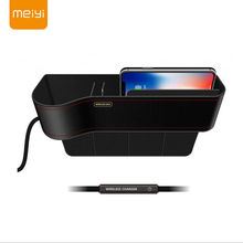 MEIYI Qi Wireless Charger Case For iPhone XS Max X XR 8 Fast Charging Car Phone Holder Samsung Note 9 S9 S8