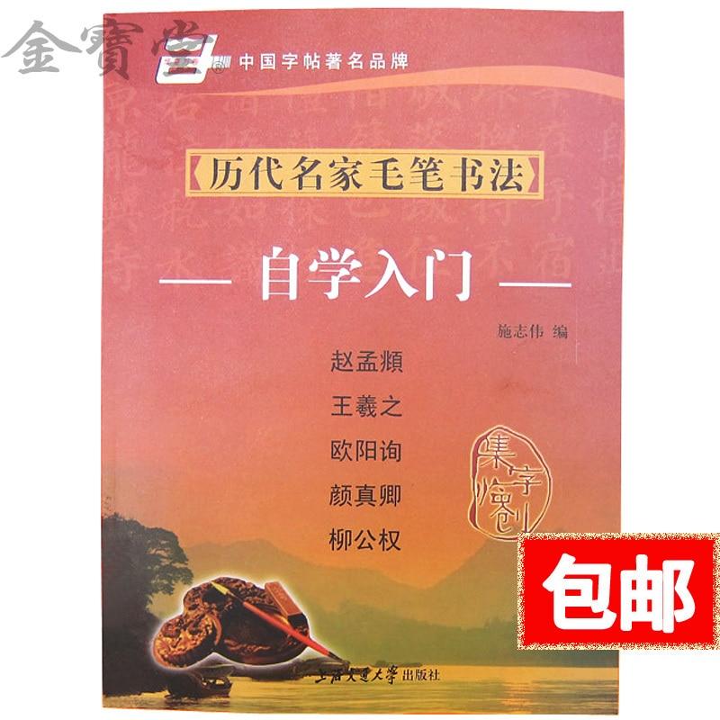 Chinese calligraphy book learn Liu Gongquan wang xizhi kaishu regular script xing shu model copybook for chinese calligraphy copy book for mo bi zi cursive script cao shu chinese poetry of the tang dynasty shu fa