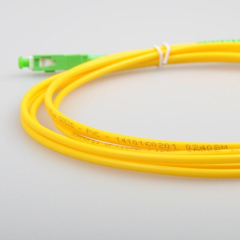 10 шт. SC APC 3 метра/5 метров/10 метров 9/125 одномодовый волоконно-оптический патч-корд кабель