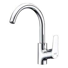 Смеситель для кухни WasserKRAFT Lippe 4507 (Керамический картридж, встроенный аэратор, латунь, хромоникелевое покрытие)