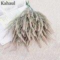 7 веток Foxtail лагурус искусственная Лаванда осеннее украшение для дома и отеля Свадебный букет поддельные цветы