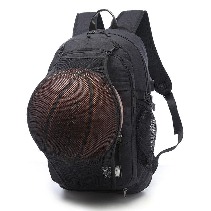 2017 спортивный рюкзак Для мужчин Баскетбол Рюкзак мешок школы для мальчиков-подростков футбольный мяч пакет сумка для ноутбука Футбол чиста...