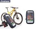 "5.5"" waterproof bicycle phone holder bag handlebar bike motorcycle mobile phone holder for iphone 4 5 5s 6 6s accessories"