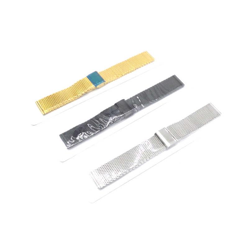 OGNI PORCELLANA 22 MM Magnetico Milanese Loop Per Gli Uomini Maglia del Cinturino braccialetto Cinghia Della Fascia Dell'acciaio inossidabile per 18mm 20mm 22mm Classic bande