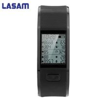 Lasam Новый Smart Браслет Спорт Монитор сердечного ритма наручные Температура отслеживания браслет умный Браслет для Android/IOS