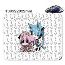 220*180*2mm &290*250*2mmatsune Miku Chibi Dibujo Rubber Gaming Mouse Mat Can Be Used Tablet Usb Micro Sd Laptop Mini Pc Keyboard