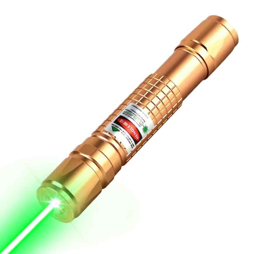Высокая мощность лазерная указка зеленый лазерный прицел тактический 10000 м прицел ручка 303 Сжигание Лазерная ручка Мощный лазерный указатель фонарик