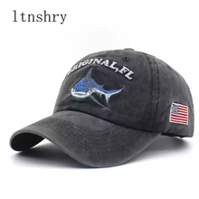 2019 Washed Cotton Men Baseball Cap Fitted Cap