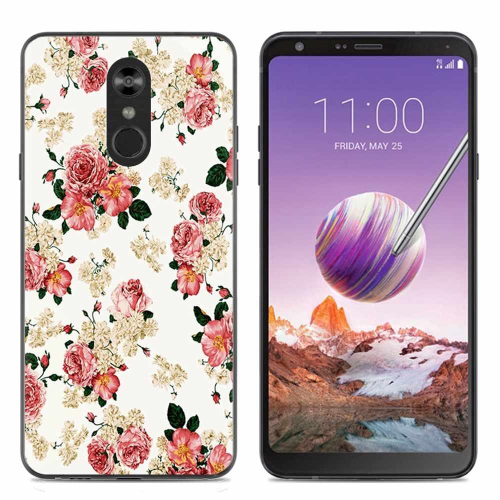 Phone Case For LG Stylo 4 6 2-inch Unicorn Marble Flamingo New Arrival  Fashion Design Art Painted TPU Soft Case