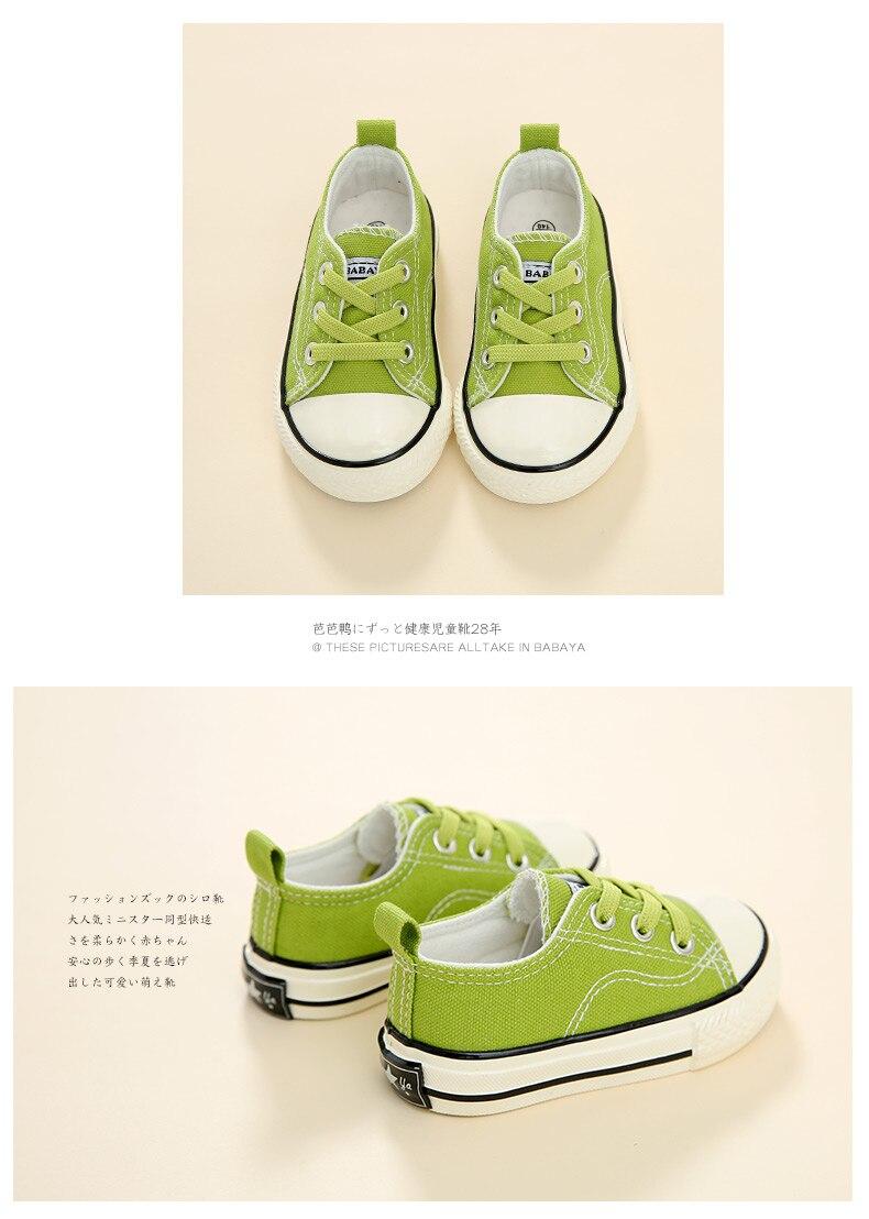 Babaya crianças sapatos de lona sapatos de
