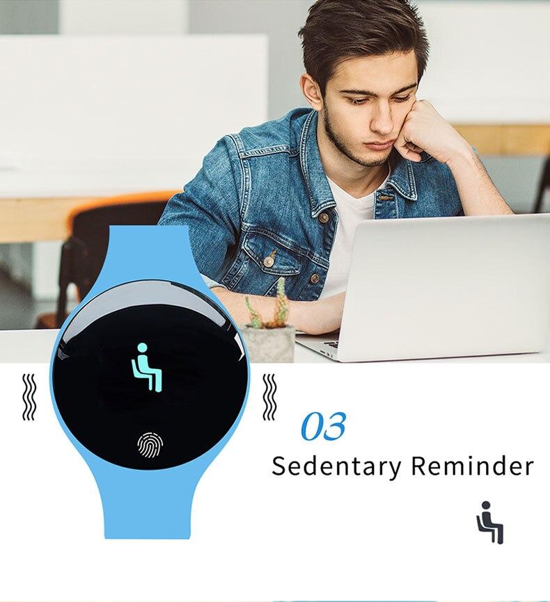 Sanda bluetooth relógio inteligente para ios android