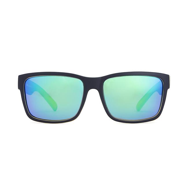 KDEAM Creates Men's Polarized Sunglasses Strong Silhouette Goggles Single-bridge Sport Sun Glasses Man With Full Package CE