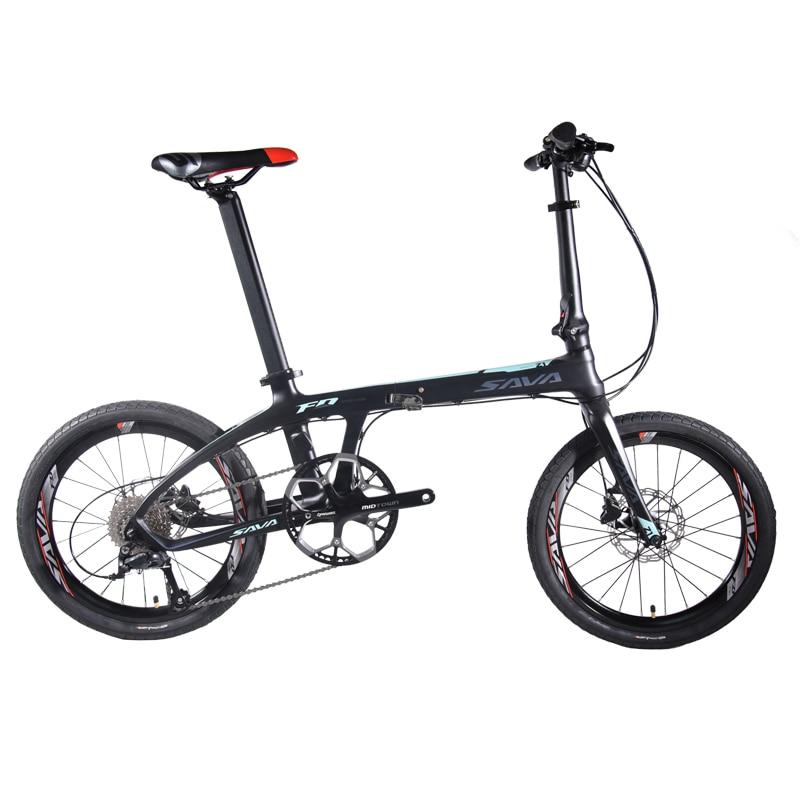 HTB1nYoCXO 1gK0jSZFqq6ApaXXaQ SAVA Folding Bike 20 inch Folding bicycle Foldable Carbon Folding Bike 20 inch with SHIMANO 105 22 Speed Mini Compact City Bike