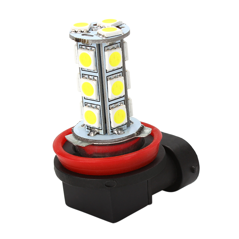 Car LED Headlight H11 H8 LED Headlamp Driving Fog Lights 5050 18SMD LED H11 Automobiles Head Light Lamp Car-styling