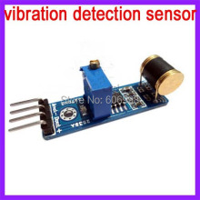 5pcs/lot Vibration Detection Sensor Module For Arduino Robot Kit Analog Output
