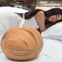 TBonlyone 400ML Humidifier Ultrasonic Aromatherapy Mist Maker Electric Aroma Diffuser Air Humidifier Essential Oil Diffuser