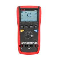 Mejor UNI T UT612 LCR medidor Digital inductancia capacitancia resistencia frecuencia probador gráfico de barra analógica interfaz USB auto LCR medida