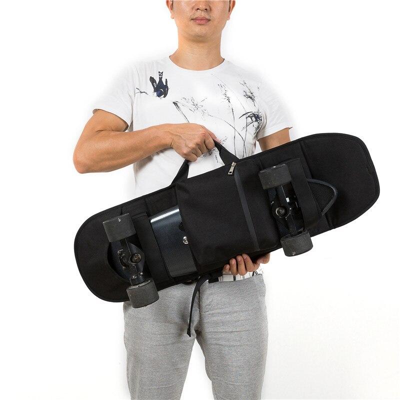 Maxfound Durable pratique Portable Skateboard planche à roulettes couverture Longboard transport sac à dos sac de transport