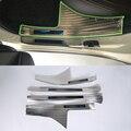 OUBOLUN Нержавеющая сталь внешние автомобильные аксессуары внутренняя дверь Накладка Высокое качество для SUBARU XV 2017