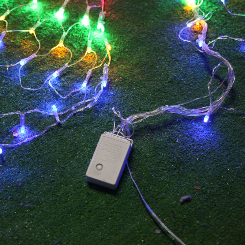 New Year Garland LED Jullampor Outdoor Party Cristmas Decoration - Festlig belysning - Foto 6