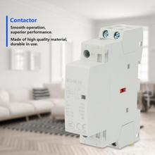 2P Contactor 16A Contactor 220V/230V 2NO 50/60HZ Din Rail Household AC Contactor new lc1d205m7c tesys d contactor 205a ac 220v 50 60hz lc1 d205m7c