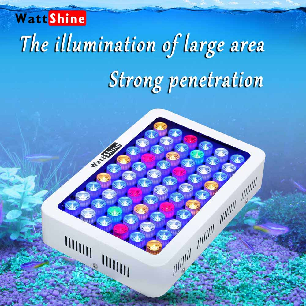 Professional Lighting 180w Fish Aquarium Lights Free Shipping For Marine Aquarium Full Spectrum Light In The Reef Aquarium