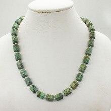 """10 мм натуральные бразильские полудрагоценный камень ожерелье. Классическое Свадебное ожерелье, ювелирные изделия 19"""""""