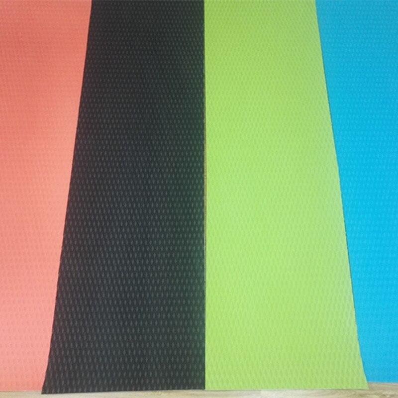 Srfda 2200*650*5mm tabla de surf pad cubierta línea de diamante EVA cubierta de agarre 3 M adhesivo sup pad cubierta en surf
