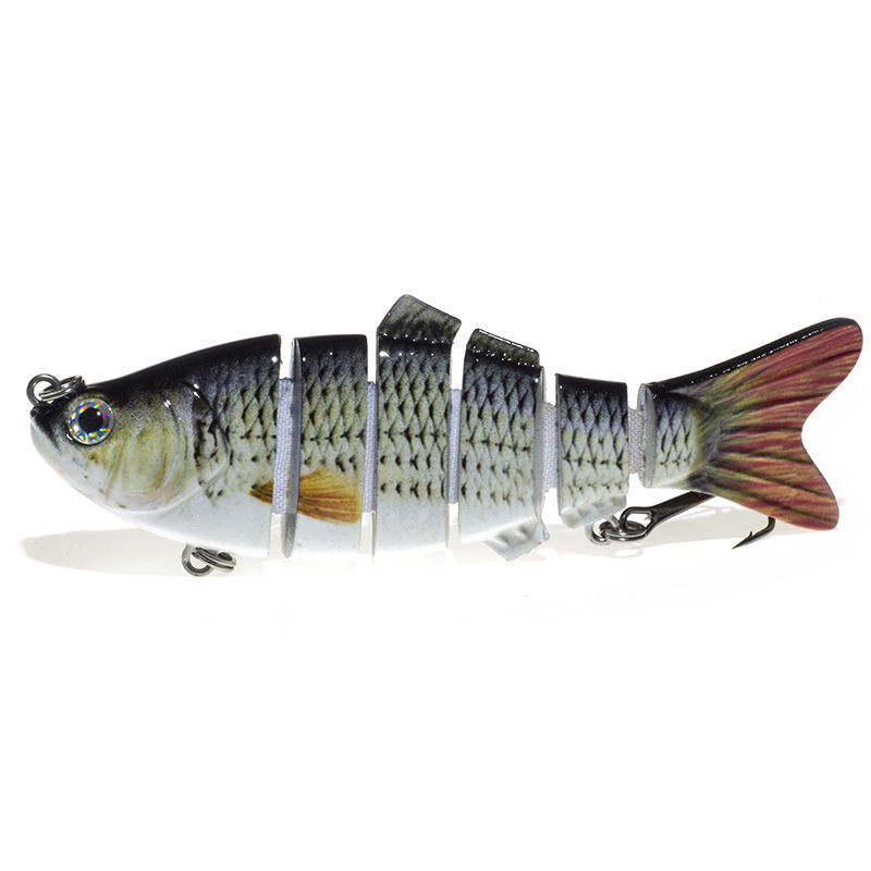 Big Mouth Billy Bass Saltwater Lead Fish Jigbait Fishing Lures 10cm 17g Deep Diving Crankbait Trophy Wave Bass fishing lure bait