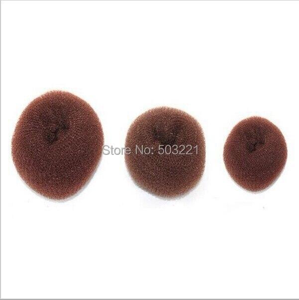 3 pçs/lote Frete Grátis Atacado Hair Styling Ferramenta Acessórios de Cabelo Rolo Bun Anel Donut Shaper Criador