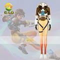 Game Tracer Cosplay Costume Female/Women/Girls/Lady Halloween Cosplay d.va Zentai Catsuit Custom Spandex Digital MZX-219-05
