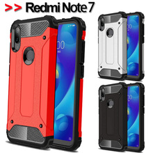 Luxury Armor Shockproof Case For Redmi Note 7 Full Cover Xiaomi Soft Silicone note