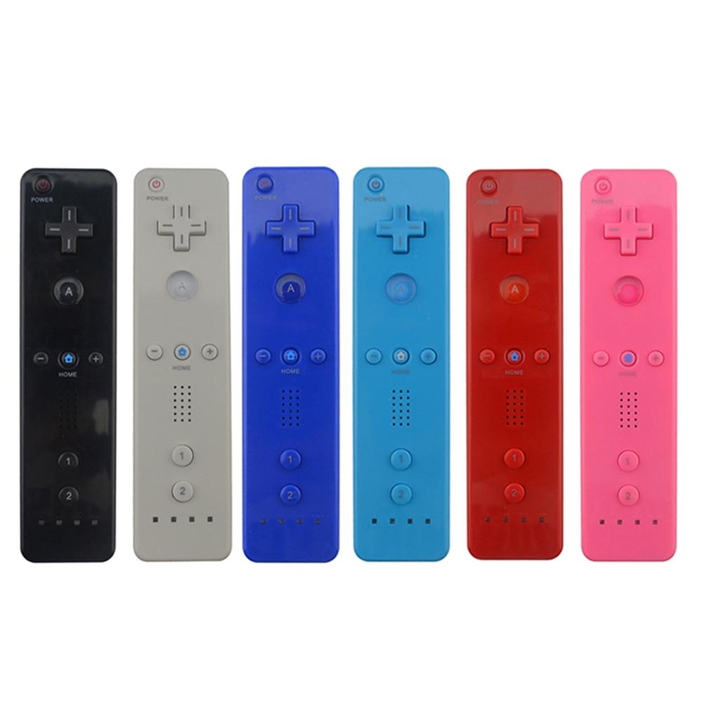 7 цветов 1 шт. Беспроводной игрового контроллера геймпад для Nintend Wii игровой пульт дистанционного управления джойстик без Motion Plus