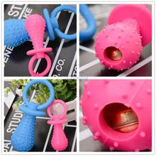 New dog toy rubber pacifier resistant to bite pet supplies products for animals free shipping mini pacifier rubber 9.5*4cm