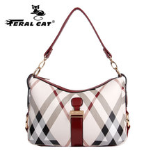 FERAL CAT Big Women Bag High Quality New PVC  Leather Handbags Casual Female Bags Tote Brand Shoulder Ladies Large Bolsos