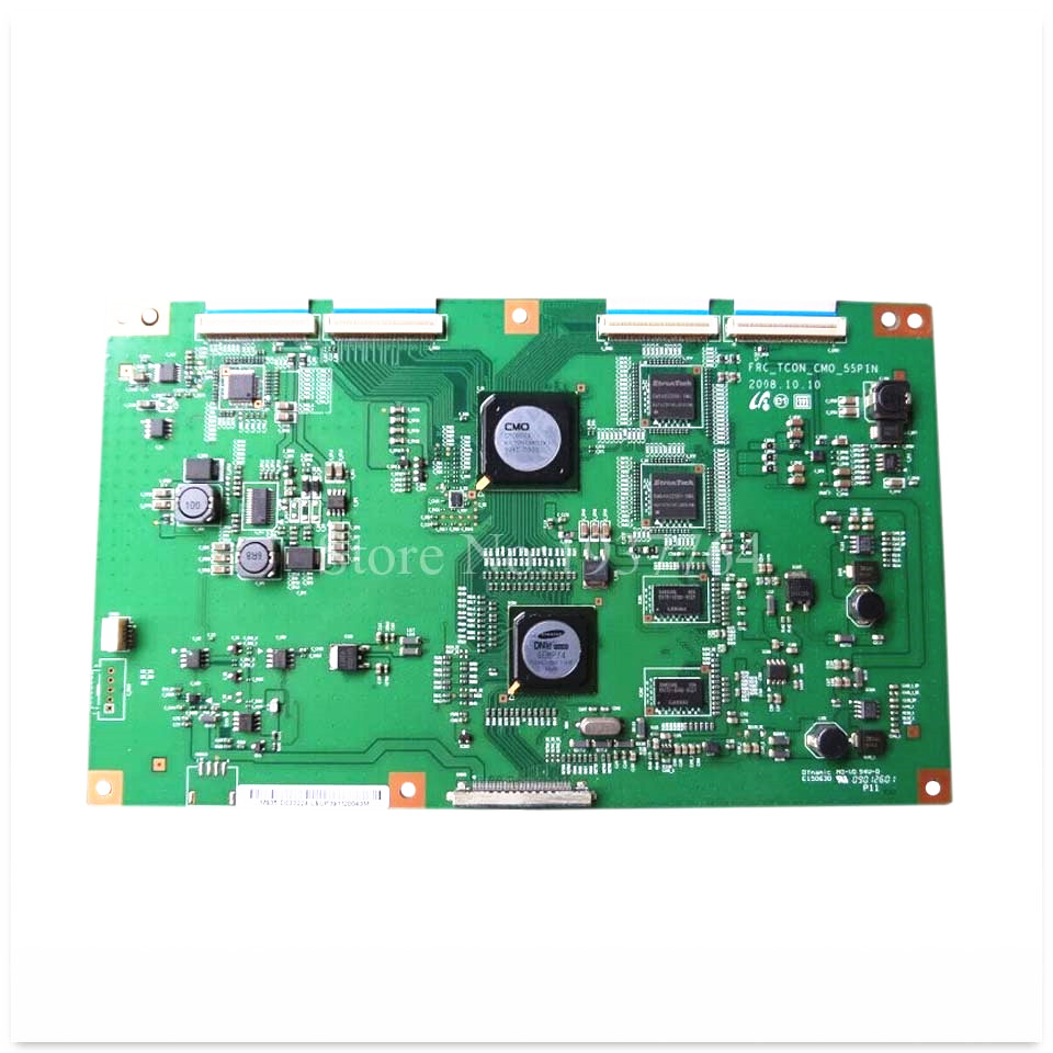 good working High-quality for second-hand original FRC-TCON-CMO-55PIN logic board V400H1-LH3 screen original second hand power supply board 52lx530a runtka830wjqz 52 inch good working