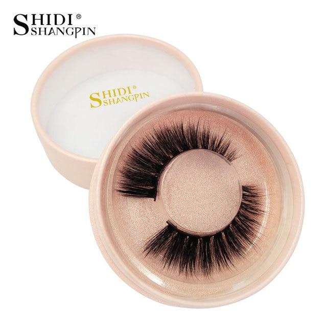 905518cdeb0 SHIDISHANGPIN 1 box 3d mink lashes hand made makeup false eyelash natural  long eyelashes makeup full strip lashes faux cils #745
