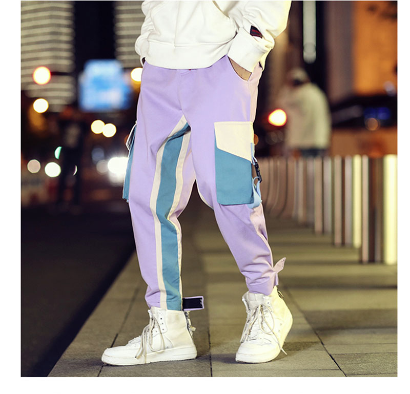 Cool Cargo Pants Men Casual Hip Hop Fashion (17)