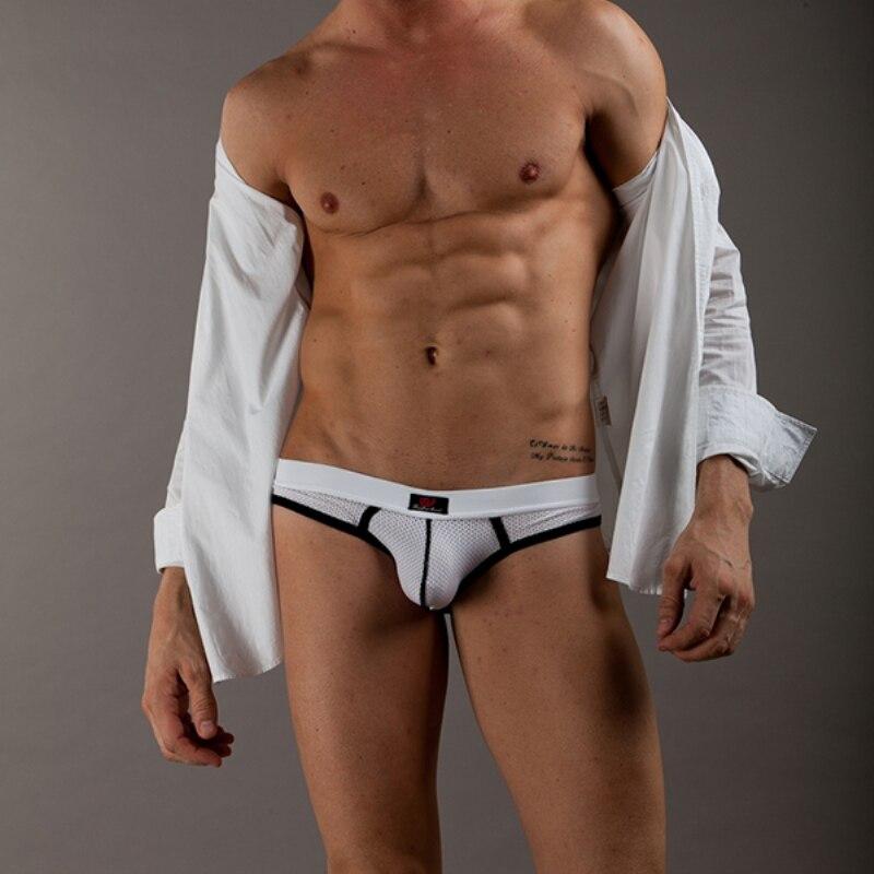 Men sexy underwear, bow tie briefs pouch thong, mens low