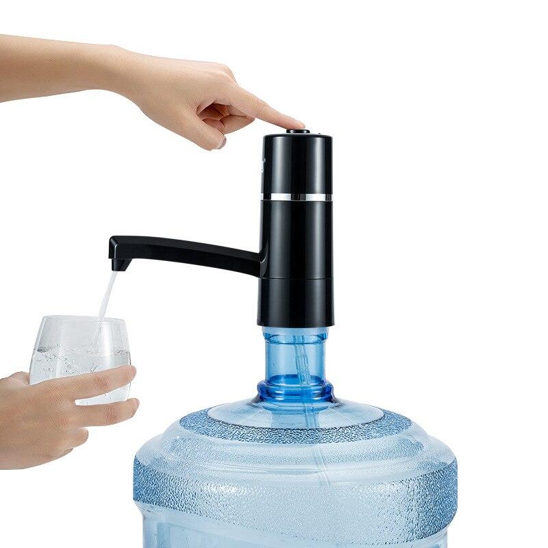 Pumpe für Wasser Flasche Dispenser Wasser Drahtlose Wiederaufladbare Elektrische Wasserpumpe Trinken Flaschen Drink Werkzeuge für Sport Camp