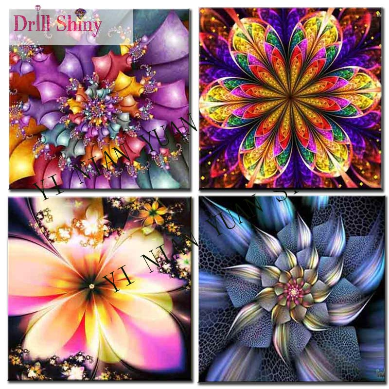 5D diy Square Diamond Painting Mandala flower Cross Stitch Embroidery Kits Full Needlework Unifinished Home Decor picture F36