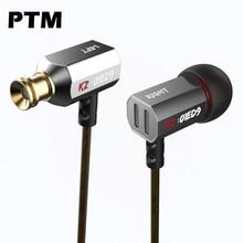 Alta calidad Original KZ ED9 En la oreja de Metal Estéreo Bajo Estupendo Del Auricular Auriculares para el teléfono móvil MP3/4