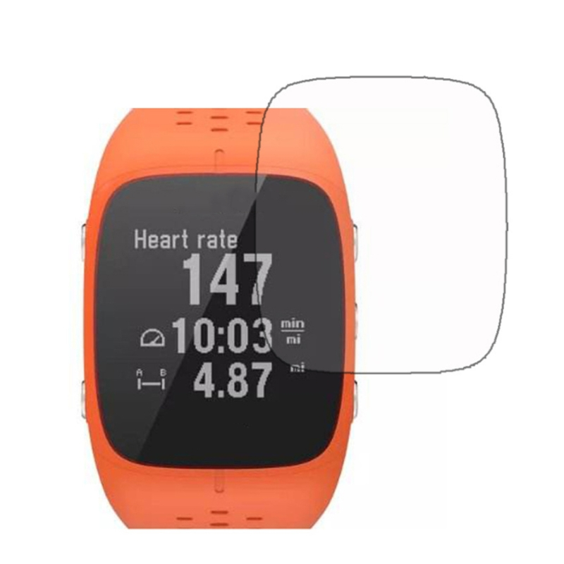 3X Clear LCD Screen Protector Guard Cover Film For <font><b>Polar</b></font> M400 <font><b>M430</b></font> Sport Smart Watch image