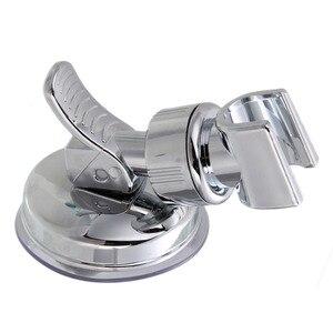 Bathroom Adjustable Shower Head Holder Rack Bracket Suction Cup Shower Holder Wall Mounted Shower Holder Bathroom Accessory