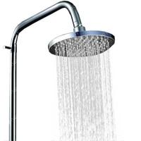 8 Inch Rain Led Shower Head With Wall Mounted Or Ceiling Mounted Shower Arm.Bathroom 20cm * 20cm Led Showerhead.Chuveiro Led