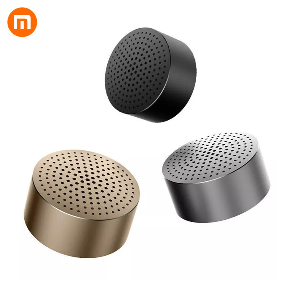 Original Xiaomi Bluetooth Metal Speaker Wireless Mini Stereo Portable Wireless Aux-in Handsfree Mp3 Music Player Call for phone
