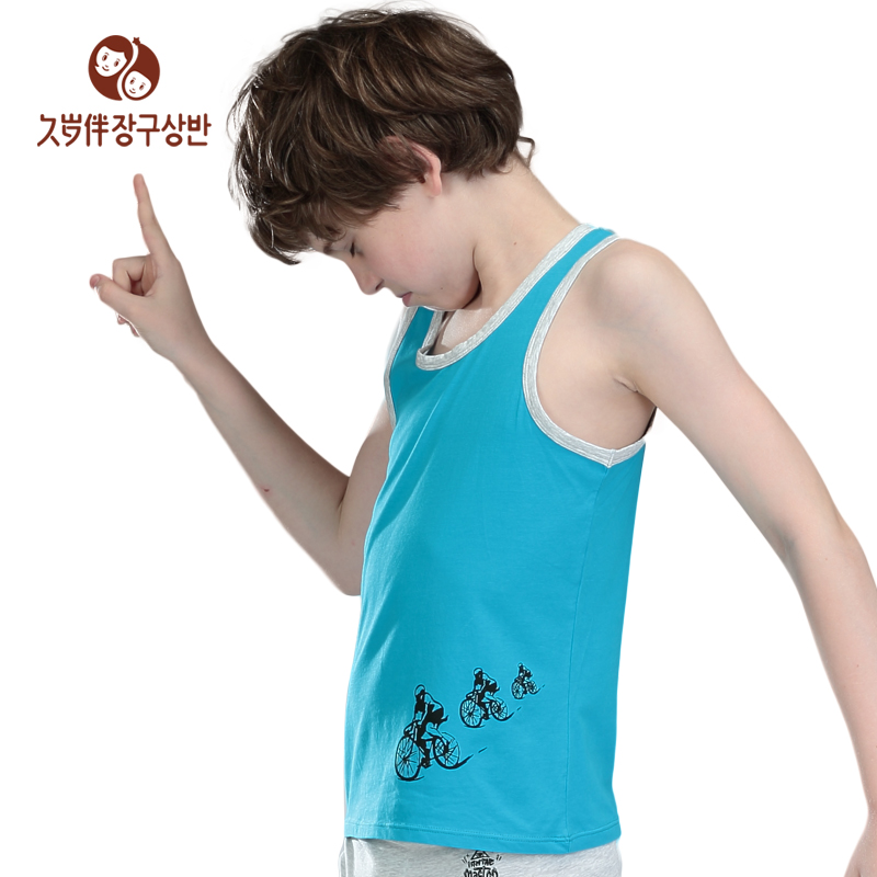 952cab40d6 Factory children clothing Kids Cool Summer Boys Casual Vest Children  Sleeveless waistcoat sweatshirt tank top a piece 7502-in Underwear from  Mother   Kids ...