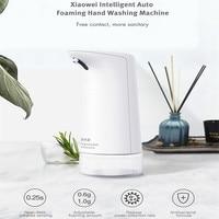 Xiaowei W66018XP 250lm 0.25S Automatic Foaming Soap Dispenser Portable IPX4 Soap Dispenser Intelligent Foam HandWashing Machine