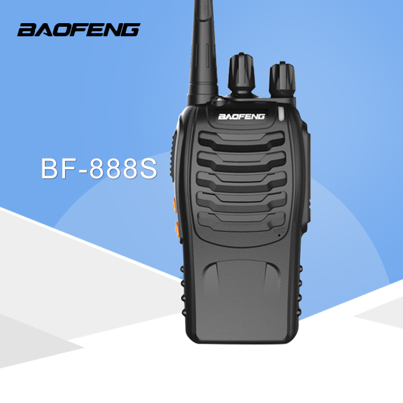 1 PCS Baofeng BF-888S Walkie Talkie 5W Handheld Pofung UHF 5W 400-470MHz 16CH Two way Portable CB Radio